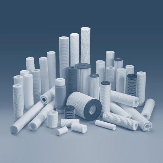 تصفیه آب صنعتی آب ثمین - فیلترهای کارتریجی - Filter Cartridge