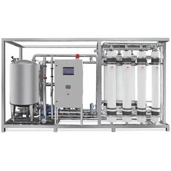 تصفیه آب صنعتی آب ثمین - دستگاه UF Package - UF