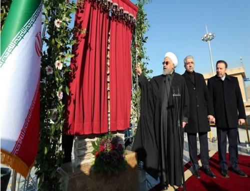رئیس جمهور فاز دوم تصفیه خانه هفت تهران را افتتاح کرد