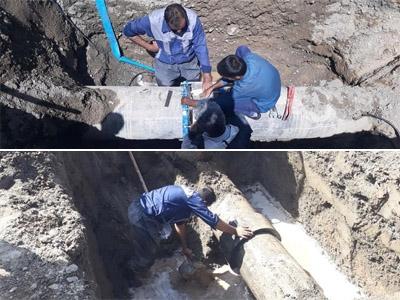 رفع 2 مورد اتفاق خط انتقال دشت علي آباد به شهر بيرجند