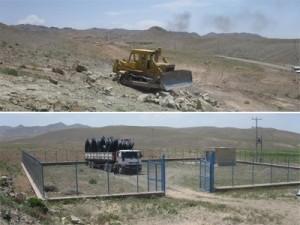 آغاز عملیات اجرایی پروژه آبرسانی مجتمع سده شهرستان قاینات