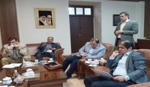 نشست مسئولان استان خوزستان پیرامون آبرسانی به غیزانیه