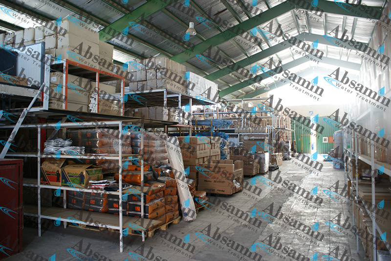 تجهیزات تصفیه آب صنعتی آب ثمین