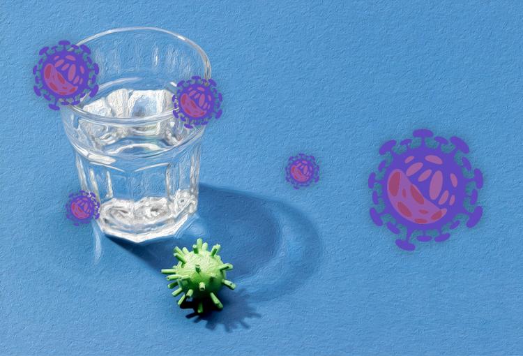 آب و فاضلاب و ویروس کرونا