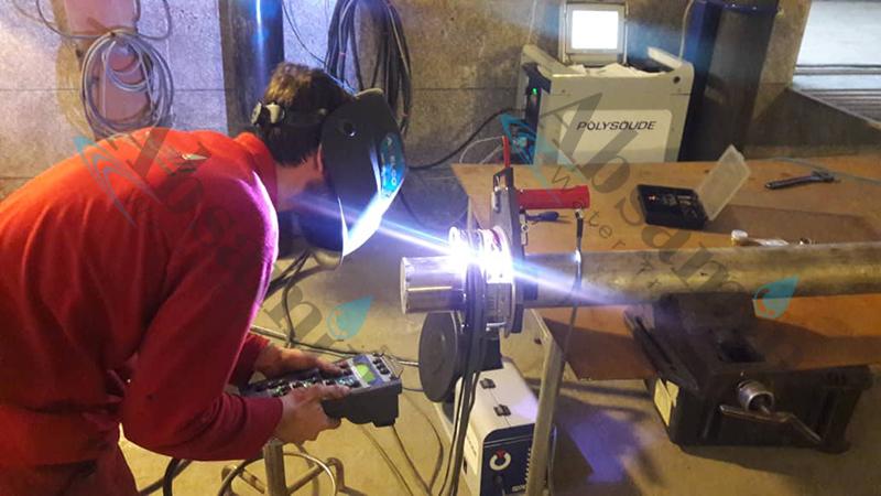 جوشکاری اوربیتال |دستگاه جوش اوربیتال اتوماتیک