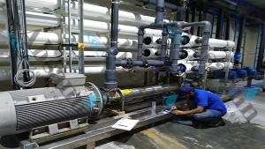 راهبری دستگاه های تصفیه آب صنعتی فن آوری آب ثمین