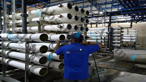راهبری تصفیه آب صنعتی