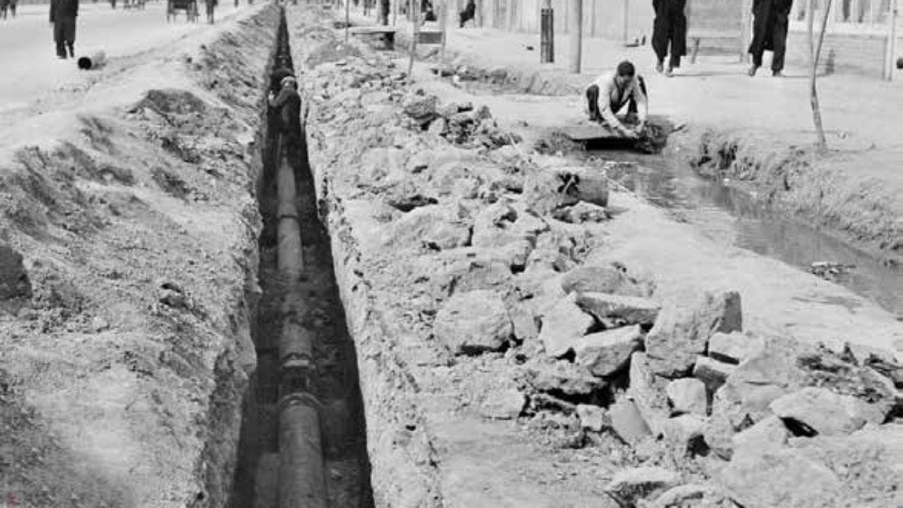 تاریخچه اب تهران