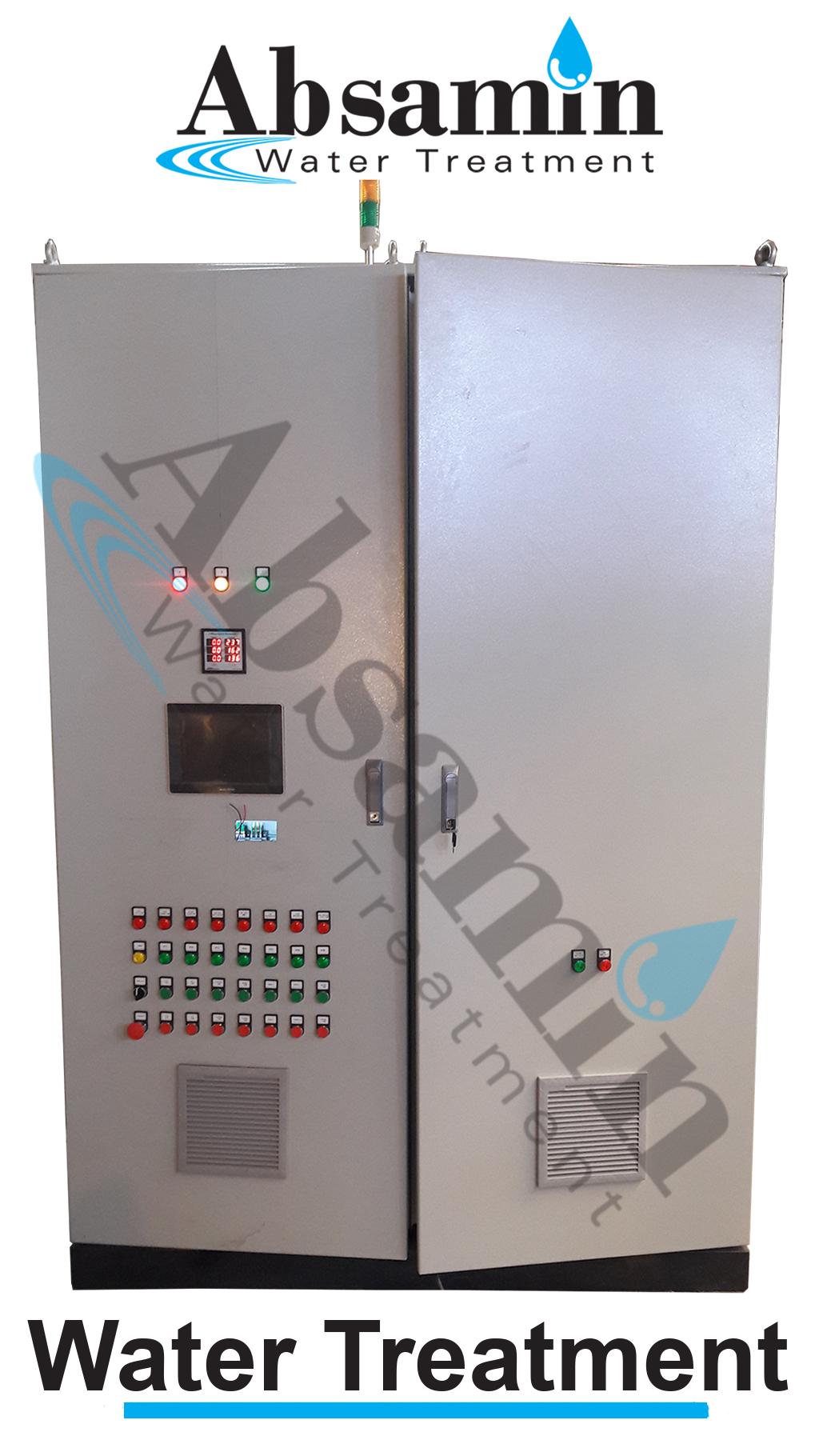 تابلو برق های دستگاه های تصفیه آب صنعتی