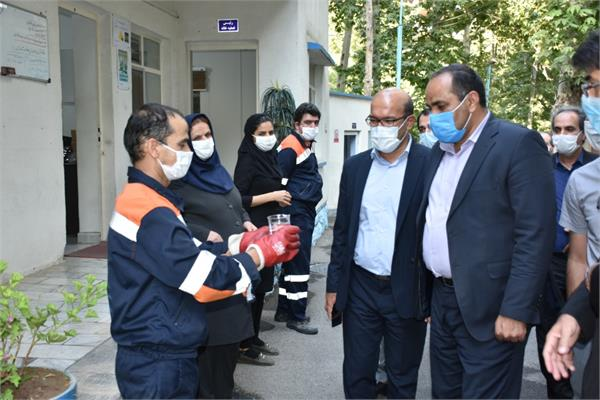 بازدید مدیرعامل آبفای استان از تصفیه خانه های فاضلاب محلی
