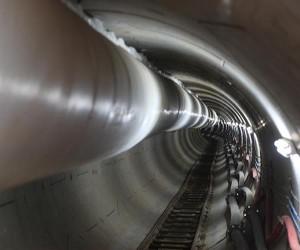 دومین تونل بلند انتقال فاضلاب تهران به صورت مکانیزه